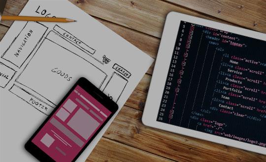 طراحی وب سایت و اپلیکیشن موبایل
